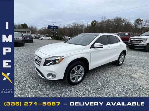 2019 Mercedes-Benz GLA for sale at Impex Auto Sales in Greensboro NC
