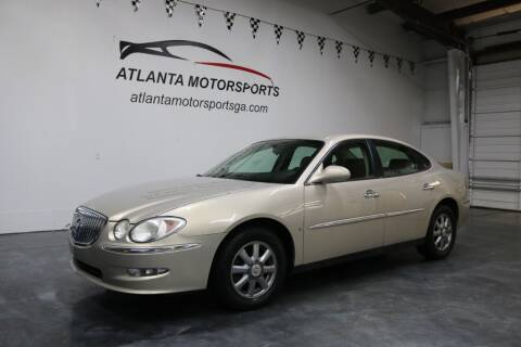2009 Buick LaCrosse for sale at Atlanta Motorsports in Roswell GA