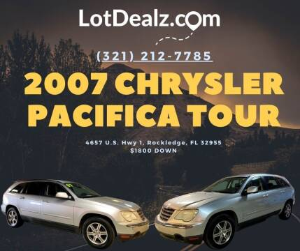2007 Chrysler Pacifica for sale at ROCKLEDGE in Rockledge FL