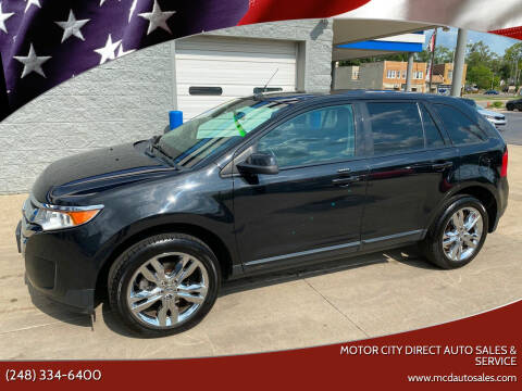 2013 Ford Edge for sale at Motor City Direct Auto Sales & Service in Pontiac MI