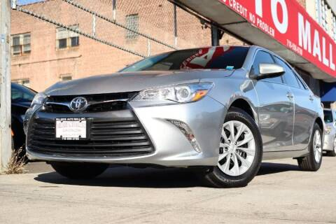 2017 Toyota Camry for sale at HILLSIDE AUTO MALL INC in Jamaica NY