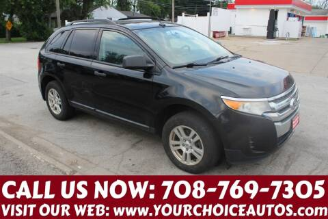 2011 Ford Edge for sale at Your Choice Autos in Posen IL