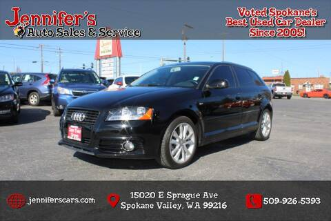 2012 Audi A3 for sale at Jennifer's Auto Sales in Spokane Valley WA