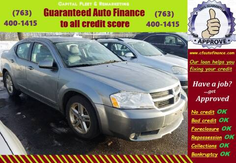 2010 Dodge Avenger for sale at Capital Fleet  & Remarketing  Auto Finance in Columbia Heights MN