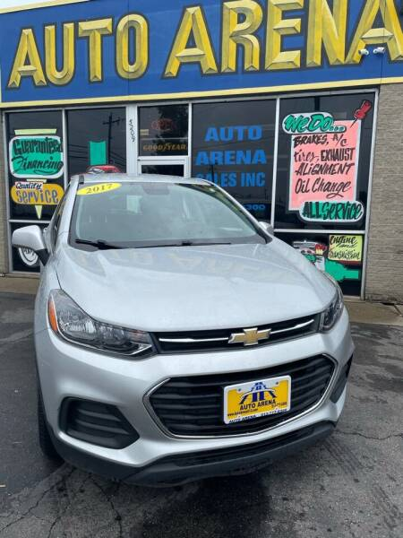 2017 Chevrolet Trax for sale at Auto Arena in Fairfield OH