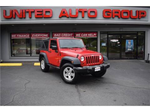 2009 Jeep Wrangler for sale at United Auto Group in Putnam CT
