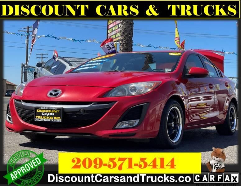 2010 Mazda MAZDA3 for sale at Discount Cars & Trucks in Modesto CA