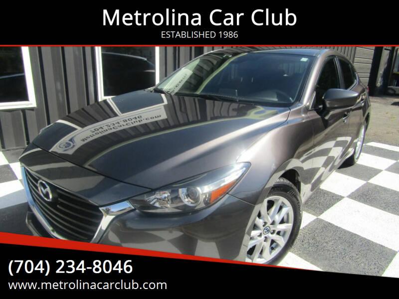 2018 Mazda MAZDA3 for sale at Metrolina Car Club in Matthews NC