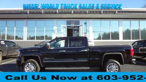 2015 GMC Sierra 2500HD for sale at Diesel World Truck Sales in Plaistow NH