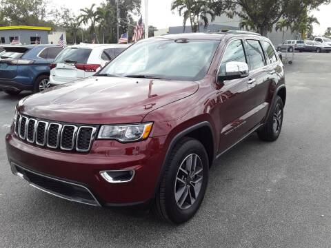 2020 Jeep Grand Cherokee for sale at YOUR BEST DRIVE in Oakland Park FL