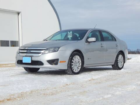 2010 Ford Fusion Hybrid for sale at Super Trooper Motors in Madison WI