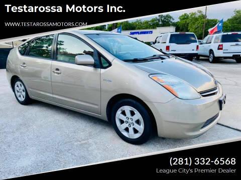 2009 Toyota Prius for sale at Testarossa Motors Inc. in League City TX