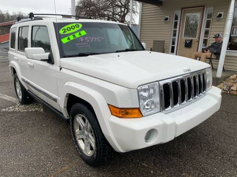 2009 Jeep Commander for sale at G & G Auto Sales in Steubenville OH