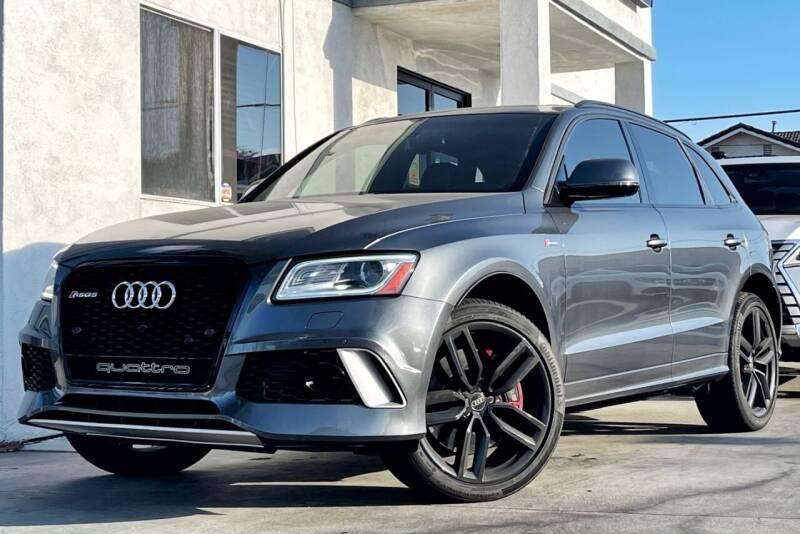 2016 Audi SQ5 for sale at Fastrack Auto Inc in Rosemead CA