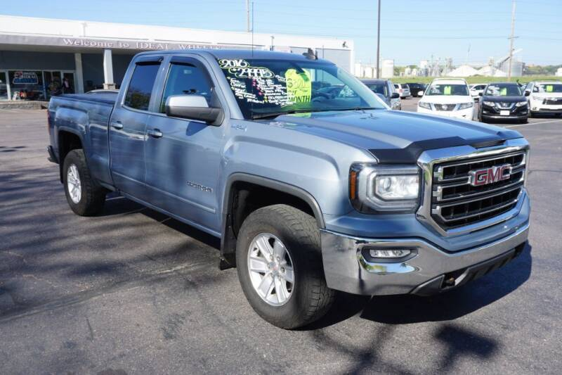 2016 GMC Sierra 1500 for sale at Ideal Wheels in Sioux City IA