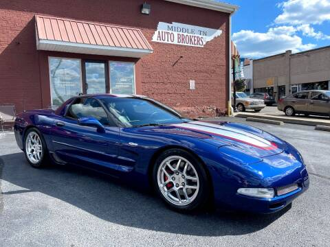 2004 Chevrolet Corvette for sale at Middle Tennessee Auto Brokers LLC in Gallatin TN