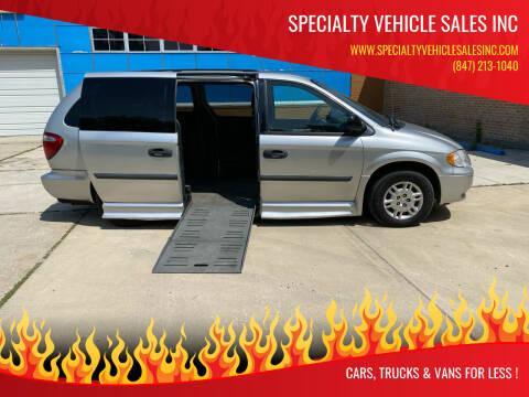2006 Dodge Grand Caravan for sale at SPECIALTY VEHICLE SALES INC in Skokie IL