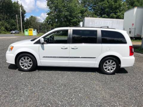 2014 Chrysler Town and Country for sale at Perrys Auto Sales & SVC in Northbridge MA
