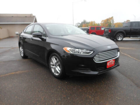 2016 Ford Fusion for sale at DANCA'S KAR KORRAL INC in Turtle Lake WI