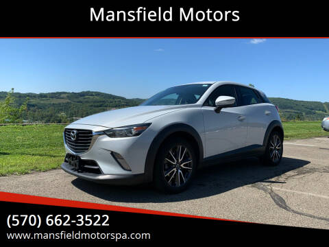 2017 Mazda CX-3 for sale at Mansfield Motors in Mansfield PA