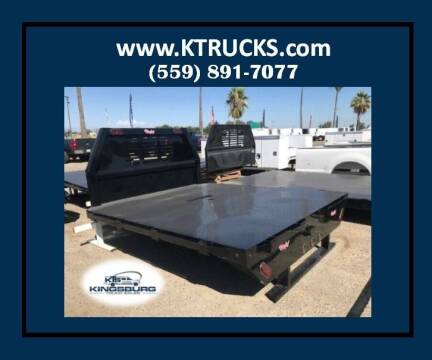 "Rugby Flatbed 8'6"" long 7'8"" wide for sale at Kingsburg Truck Center - Upfitting in Kingsburg CA"