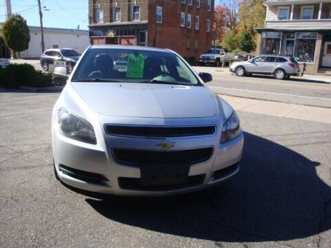 2012 Chevrolet Malibu for sale at ROSS MOTOR CARS in Torrington CT