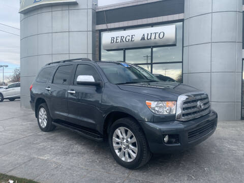 2010 Toyota Sequoia for sale at Berge Auto in Orem UT