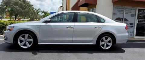 2015 Volkswagen Passat for sale at POLLO AUTO SOLUTIONS in Miami FL