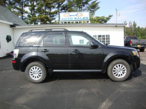 2011 Mercury Mariner for sale at G and G AUTO SALES in Merrill WI