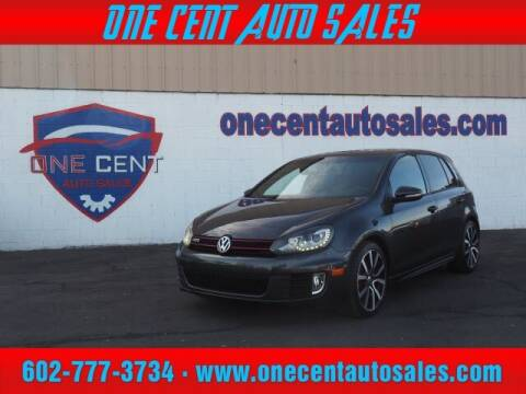 2014 Volkswagen GTI for sale at One Cent Auto Sales in Glendale AZ