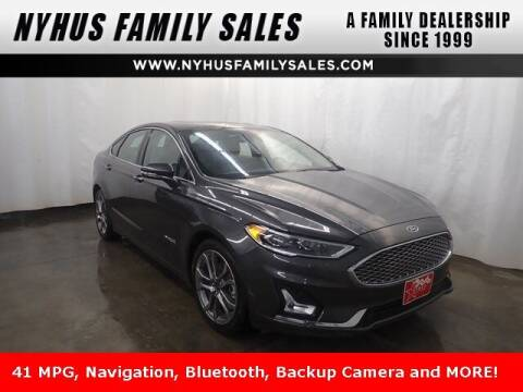2019 Ford Fusion Hybrid for sale at Nyhus Family Sales in Perham MN