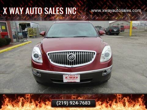 2011 Buick Enclave for sale at X Way Auto Sales Inc in Gary IN