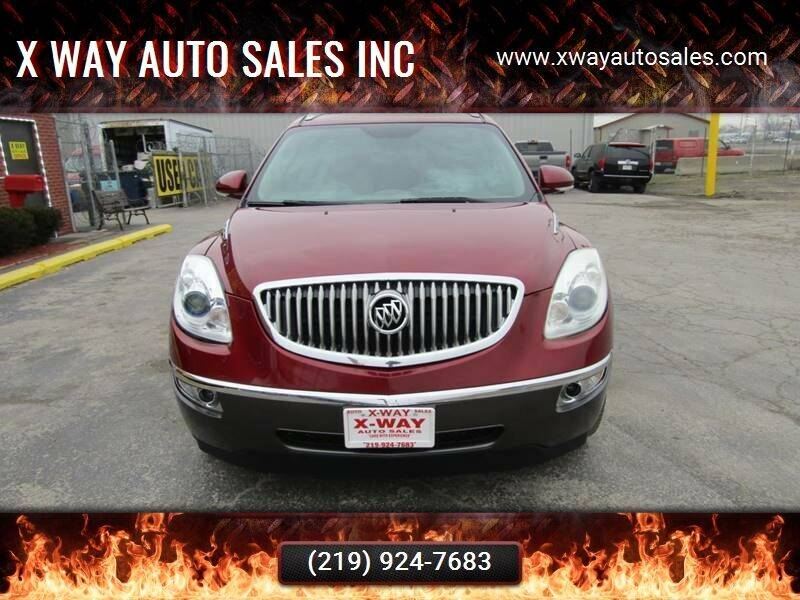 2011 Buick Enclave for sale at SCHERERVILLE AUTO SALES in Schererville IN