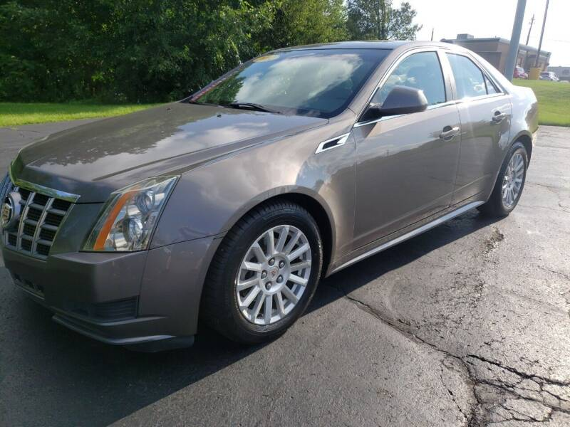 2012 Cadillac CTS for sale at STRUTHER'S AUTO MALL in Austintown OH