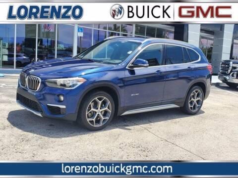 2018 BMW X1 for sale at Lorenzo Buick GMC in Miami FL