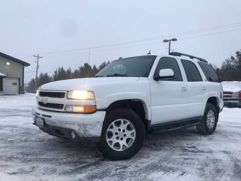 2004 Chevrolet Tahoe for sale at Lakes Area Auto Solutions in Baxter MN