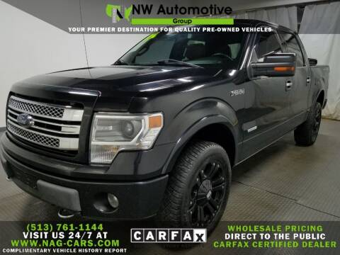 2013 Ford F-150 for sale at NW Automotive Group in Cincinnati OH