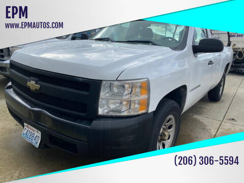 2007 Chevrolet Silverado 1500 for sale at EPM in Auburn WA