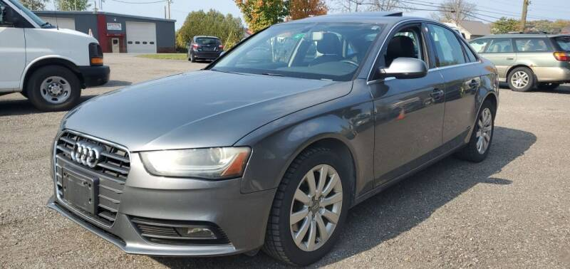 2013 Audi A4 for sale at Village Car Company in Hinesburg VT