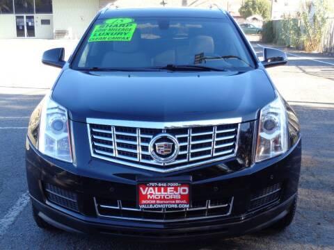 2015 Cadillac SRX for sale at Vallejo Motors in Vallejo CA