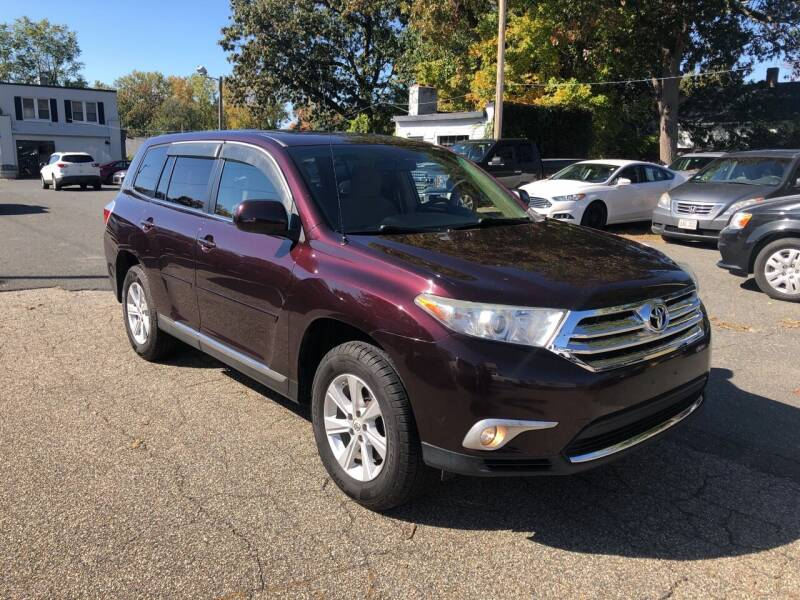 2011 Toyota Highlander for sale at Chris Auto Sales in Springfield MA