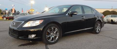 2012 Lexus LS 460 for sale at Iconic Motors of Oklahoma City, LLC in Oklahoma City OK