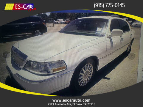 2005 Lincoln Town Car for sale at Escar Auto in El Paso TX