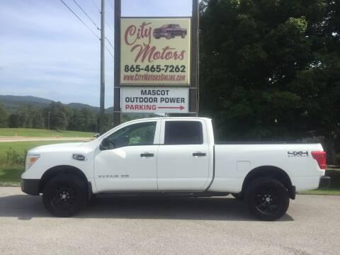 2017 Nissan Titan XD for sale at City Motors in Mascot TN