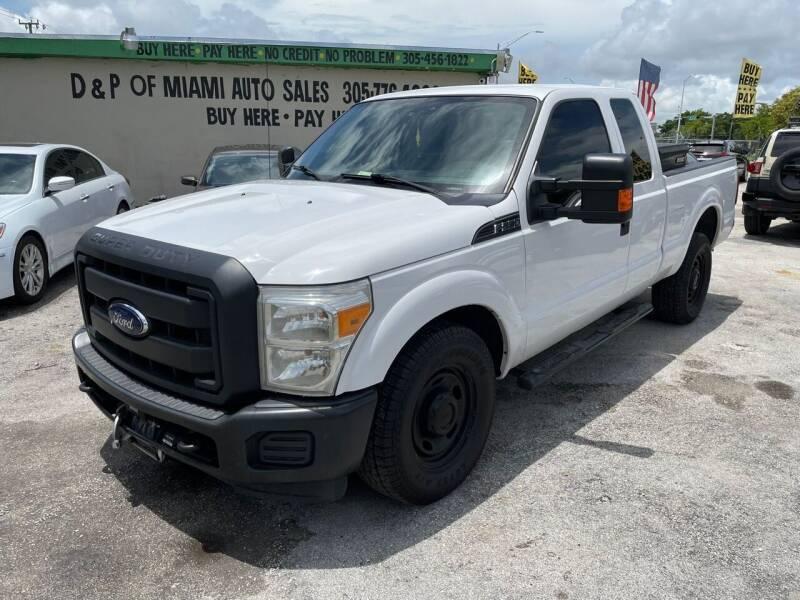 2013 Ford F-250 Super Duty for sale at D & P OF MIAMI CORP in Miami FL