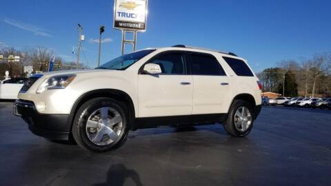 2012 GMC Acadia for sale at Whitmore Chevrolet in West Point VA