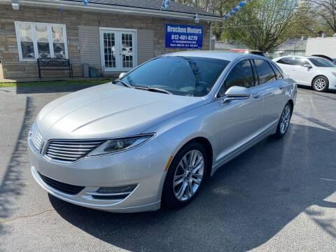 2013 Lincoln MKZ for sale at Brucken Motors in Evansville IN