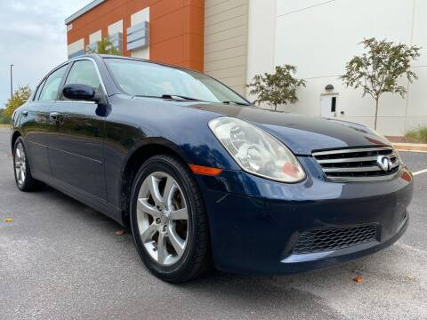 2005 Infiniti G35 for sale at ELAN AUTOMOTIVE GROUP in Buford GA