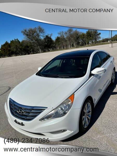 2012 Hyundai Sonata for sale at Central Motor Company in Austin TX