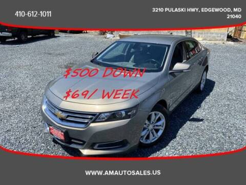 2017 Chevrolet Impala for sale at A&M Auto Sales in Edgewood MD